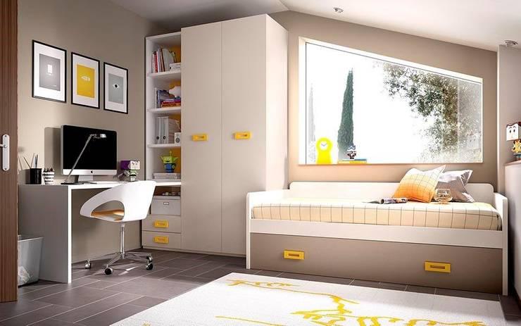 Dormitorios de estilo  por Casasola Decor