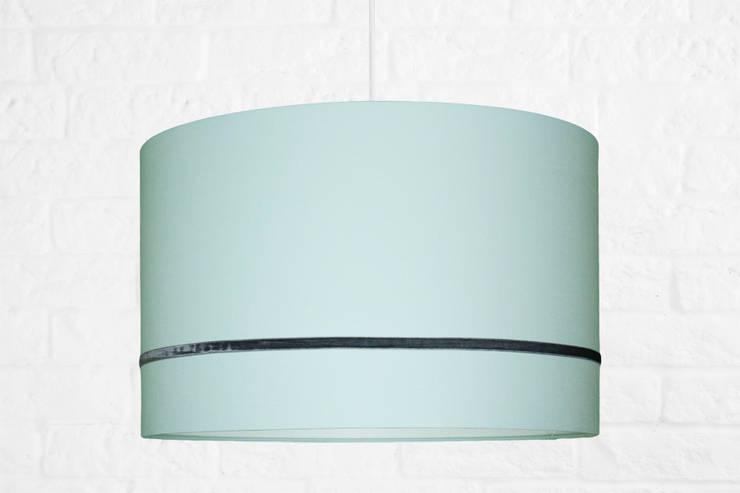 Lampa sufitowa Elegance porecelanowa mięta: styl , w kategorii Pokój dziecięcy zaprojektowany przez youngDECO,