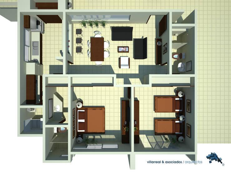 de villarreal arquitectos y urbanistas asociados sc
