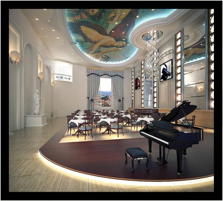 Classico: Salas de jantar  por 3D-Hiper-Realismo-