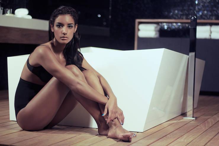 Bañera Nahu®: Baños de estilo  por Mefa de México,