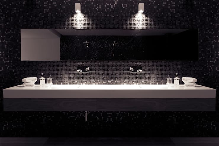 Ванная комната в . Автор – Mefa de México,