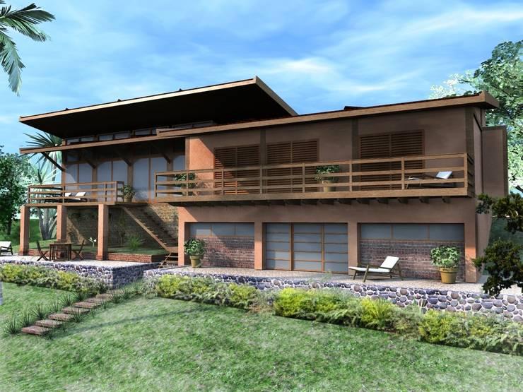 Casa Parurú: Casas  por Dualday Studio