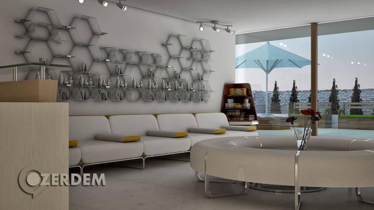 Hakan Özerdem - Mimari Proje Görselleştirme ve 3D Tasarım – Sağlık Merkezi - Nişantaşı, İstanbul:  tarz Hastaneler