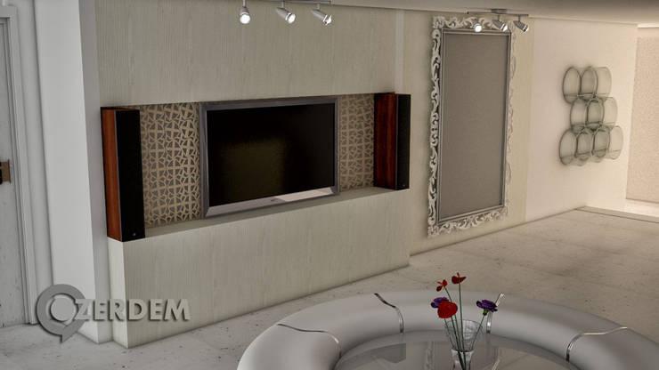 Hakan Özerdem - Mimari Proje Görselleştirme ve 3D Tasarım – Sağlık Merkezi – Nişantaşı, İstanbul:  tarz Hastaneler