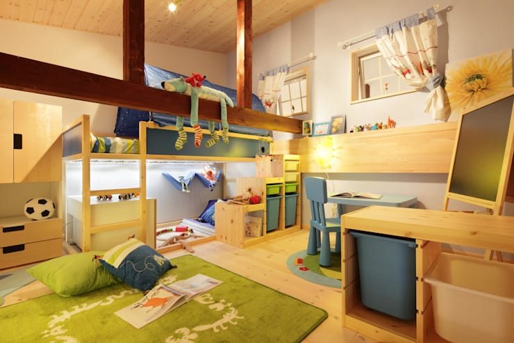 Dormitorios infantiles de estilo  por dwarf