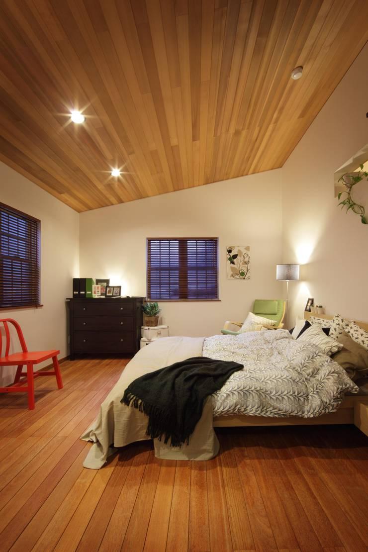 D`s HOUSE: dwarfが手掛けた寝室です。,