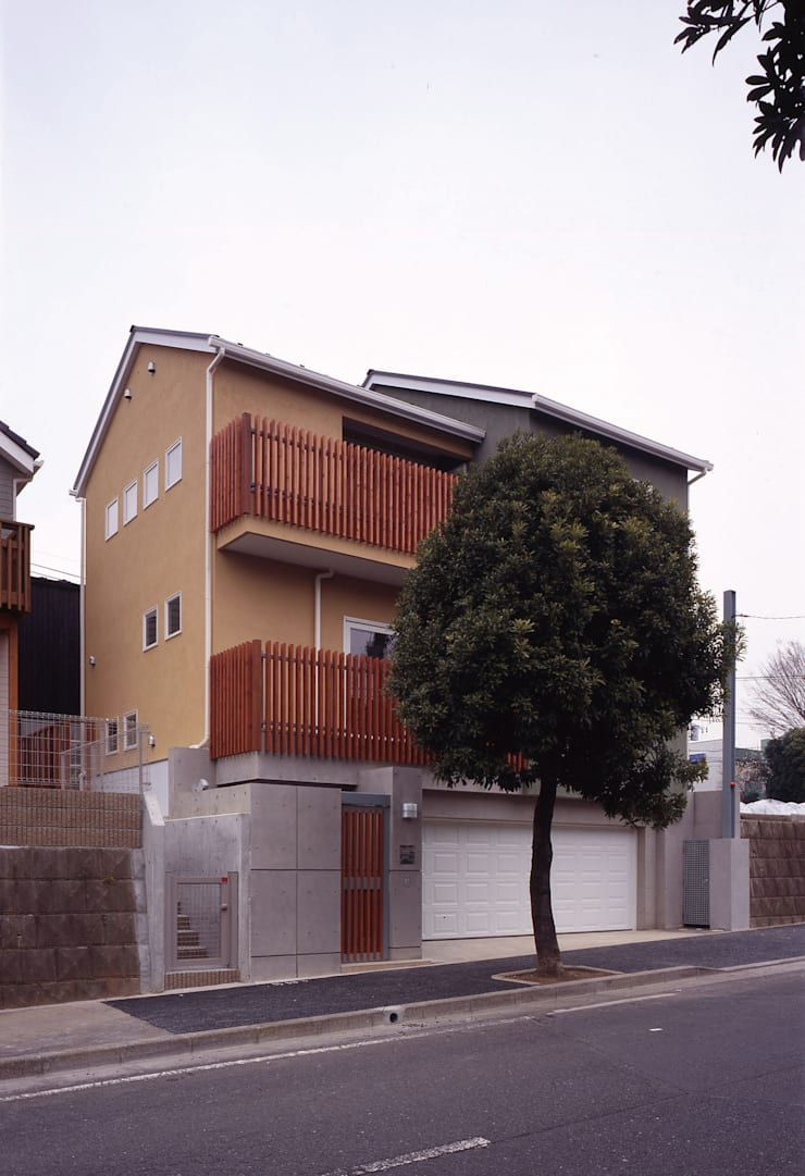 外観01: エーディフォー 一級建築士事務所が手掛けた家です。