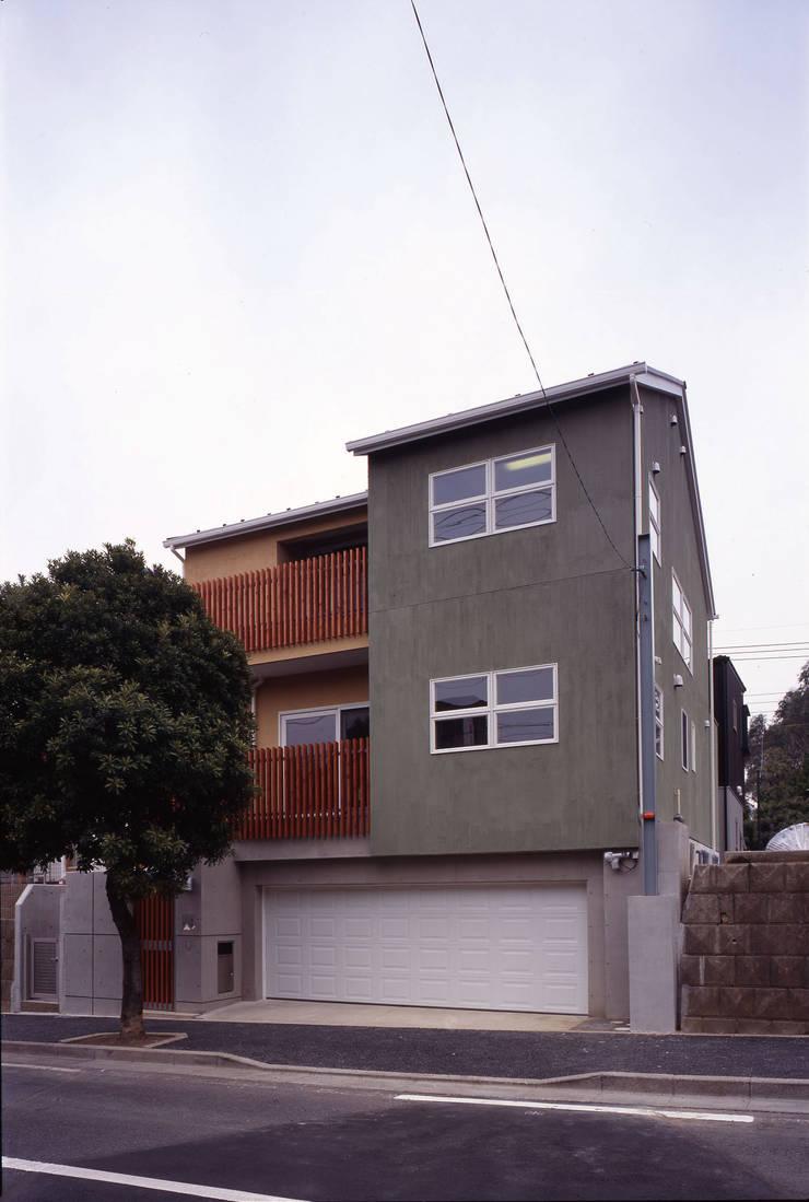 外観02: エーディフォー 一級建築士事務所が手掛けた家です。