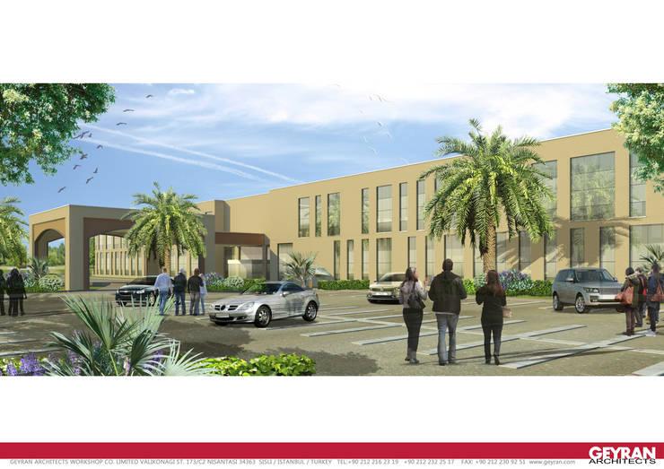 Geyran Mimarlık Atölyesi LTD. ŞTİ. – Alzubeir Hospital Basrah:  tarz