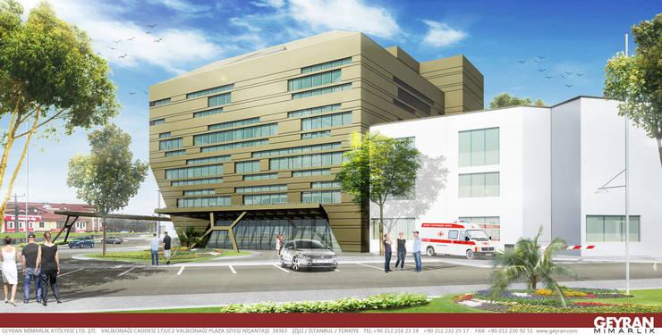 Geyran Mimarlık Atölyesi LTD. ŞTİ. – Özel Ada Tıp Hastanesi: modern tarz , Modern