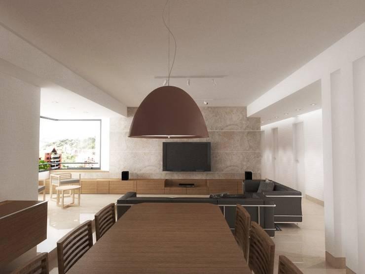 غرفة السفرة تنفيذ RRA Arquitectura