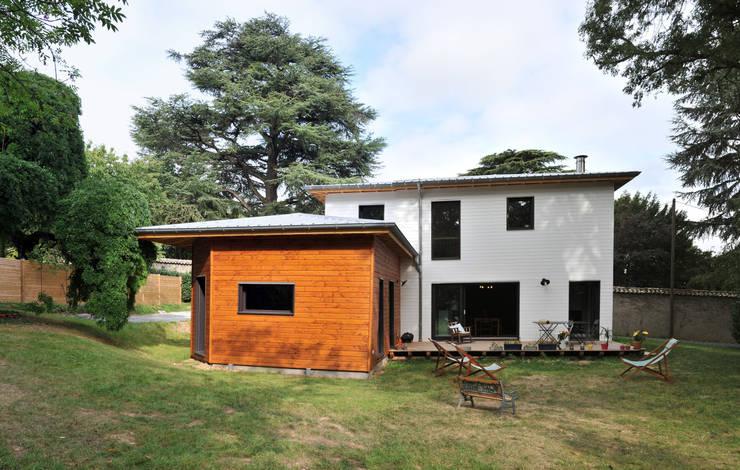 房子 by Empreinte Constructions bois