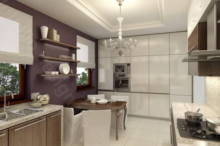 Kuchnia: styl , w kategorii  zaprojektowany przez Intellio designers