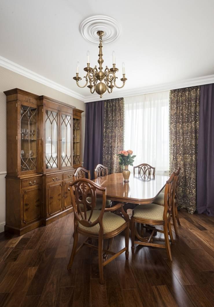 Проект квартиры в Викторианском стиле : Гостиная в . Автор – NABOKOFF английские интерьеры ,