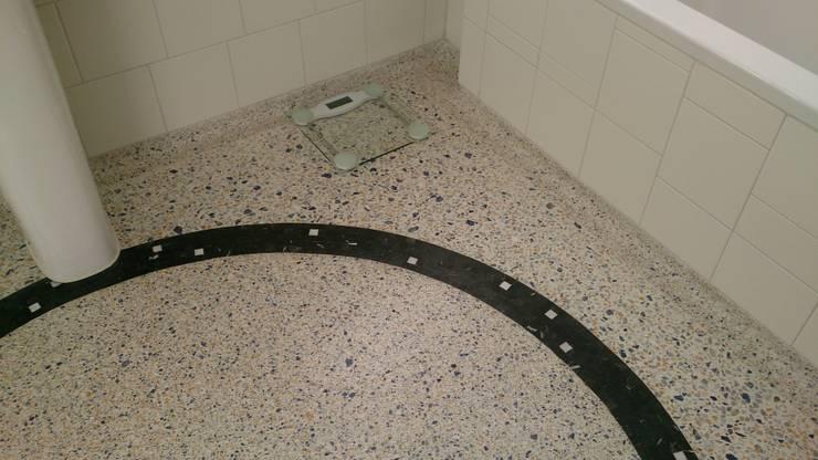 Granieten Vloer Badkamer : Een terrazzo vloer in de badkamer fraaie voorbeelden