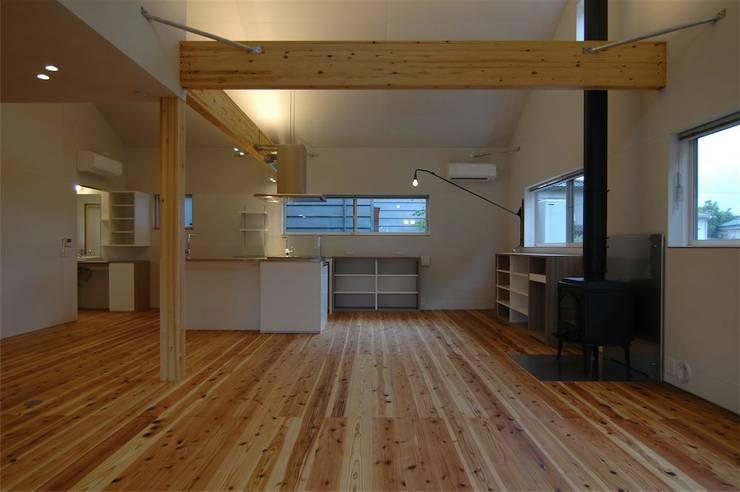 house A _Ultimate efficiency: 吉村寿博建築設計事務所が手掛けた子供部屋です。