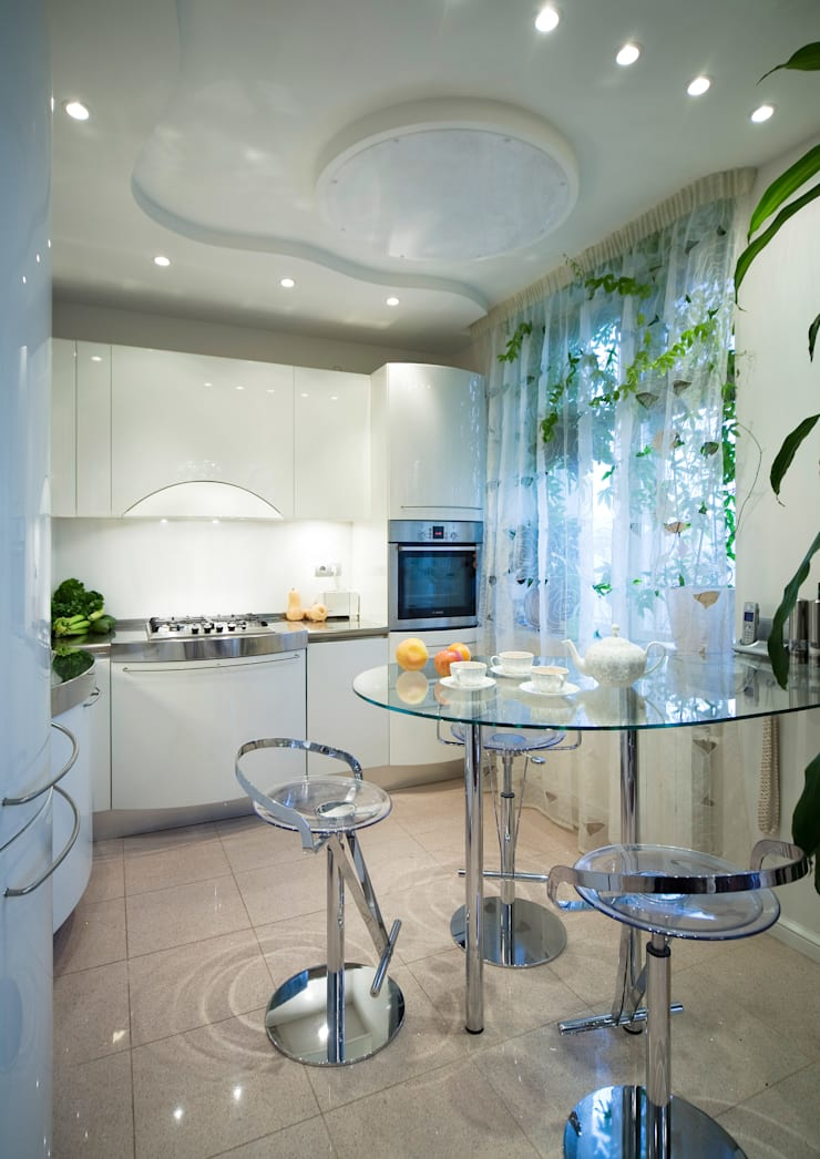 Кухня: Кухни в . Автор – Бюро9 - Екатерина Ялалтынова, Эклектичный
