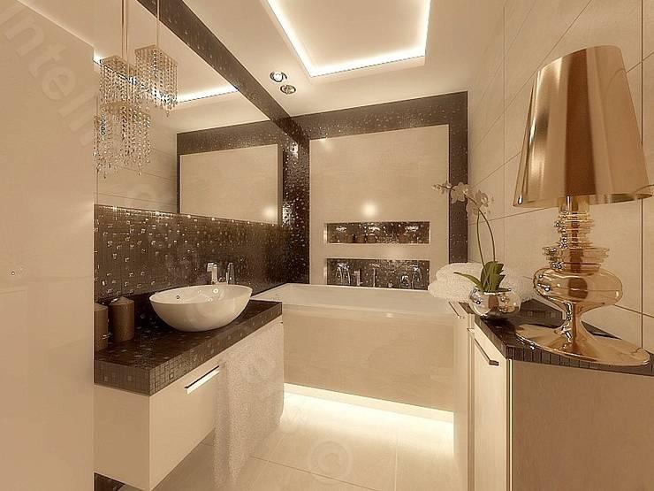Aranżacja łazienki: styl , w kategorii Łazienka zaprojektowany przez Intellio designers