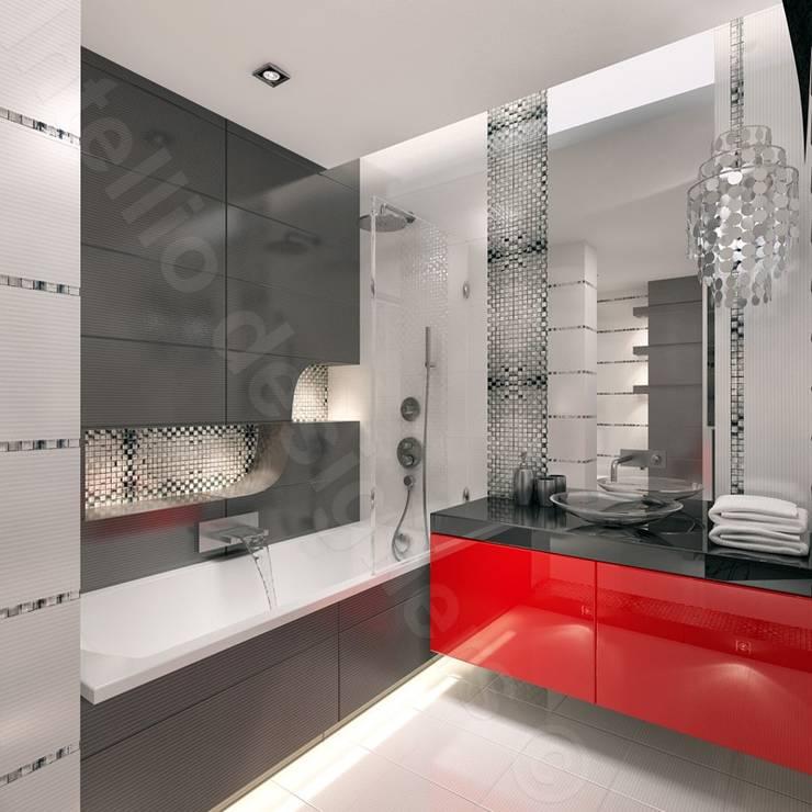 Projekt łazienki: styl , w kategorii Łazienka zaprojektowany przez Intellio designers
