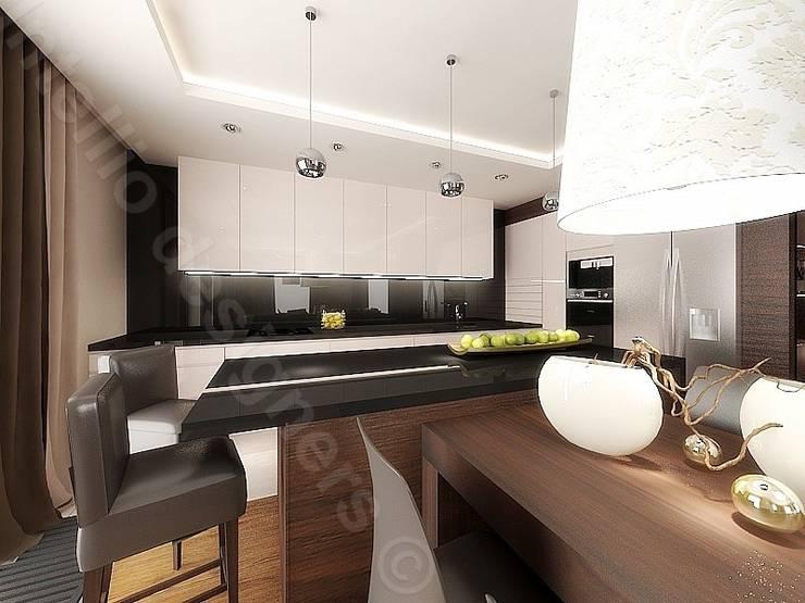 Projekt kuchni: styl , w kategorii Kuchnia zaprojektowany przez Intellio designers