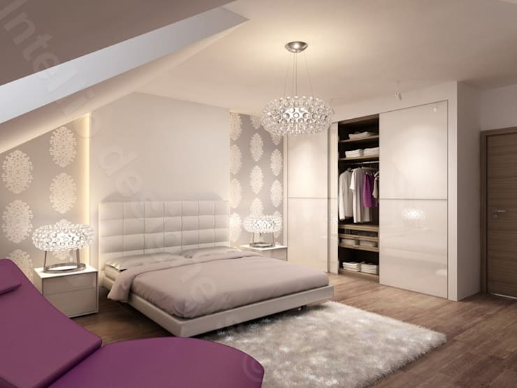 Bedroom by Intellio designers