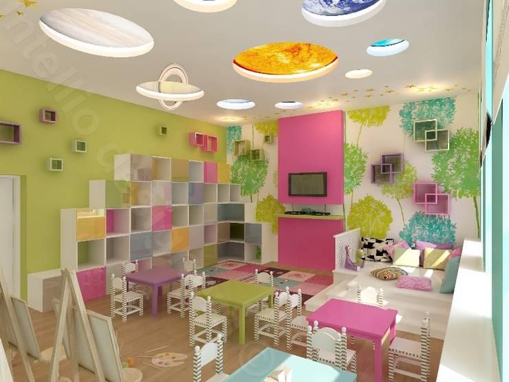 Świetlica dla maluchów: styl , w kategorii Pokój dziecięcy zaprojektowany przez Intellio designers,Nowoczesny