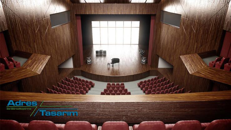 Adres Tasarım – Şile Belediyesi Kültür Merkezi Projesi:  tarz