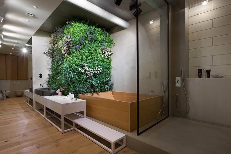 NPL. Penthouse: industrial Bathroom by Olga Akulova DESIGN