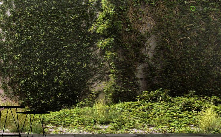 IVY Landscaping : Jardines de estilo asiático por ArqRender
