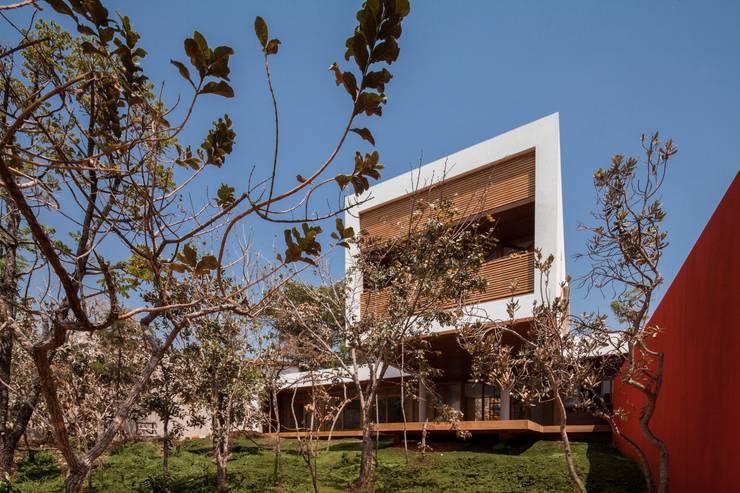 Casa da Copaíba - Projeto: Fabiano Sobreira - MGS - Macedo, Gomes & Sobreira: Casas modernas por MGS - Macedo, Gomes & Sobreira