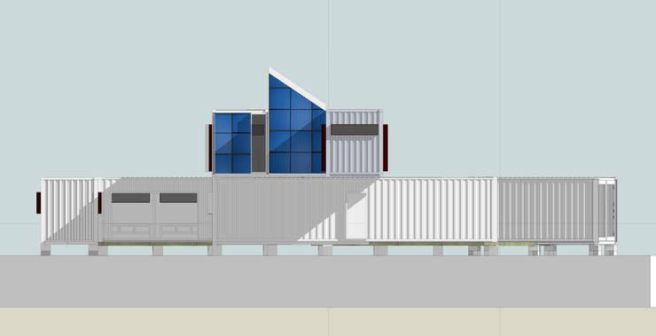 Casas de estilo  por Ecosa Institute