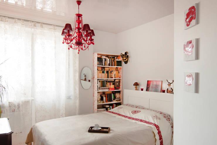 Дизайн-проект квартиры 72,3 м.кв.: Спальни в . Автор – Iv Decor