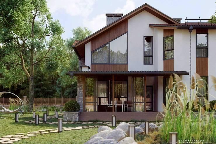 Projekty, śródziemnomorskie Domy zaprojektowane przez Yurii Hrytsenko