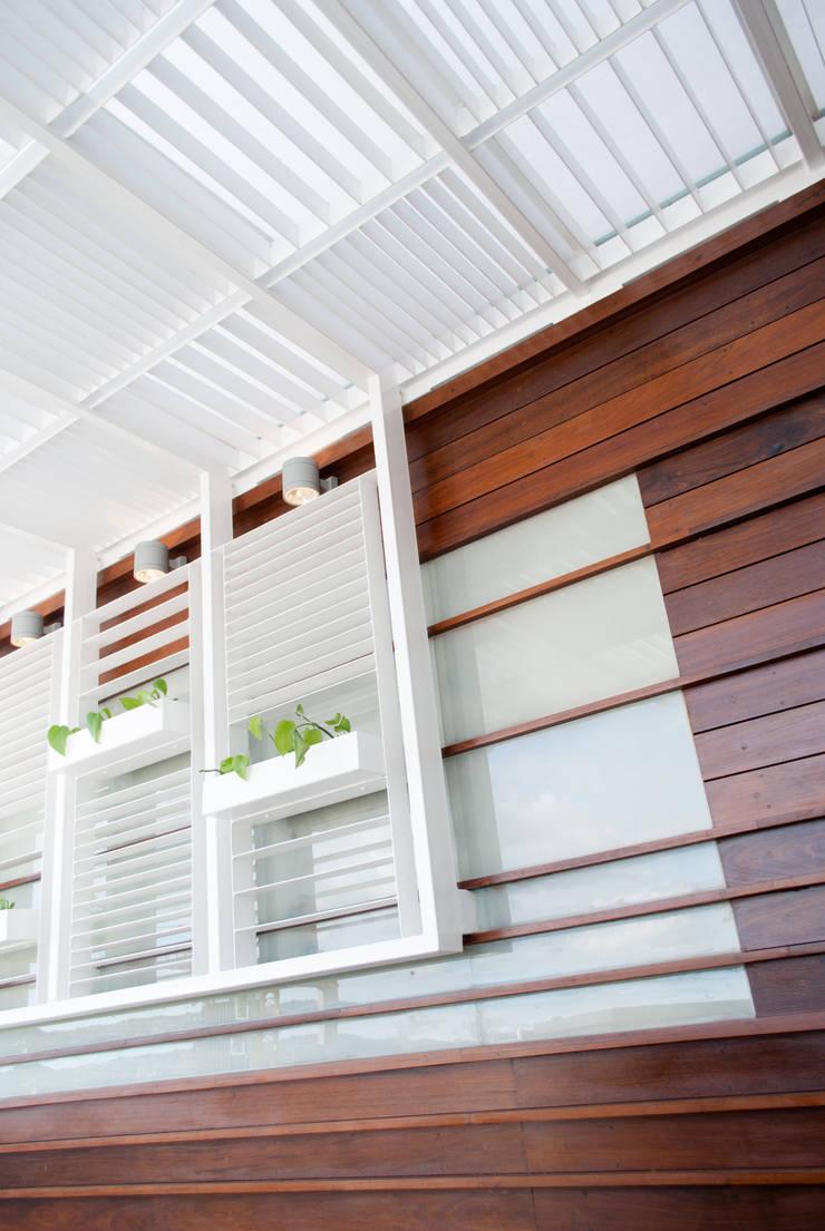 PH Castellana Real: Terrazas de estilo  por VODO Arquitectos