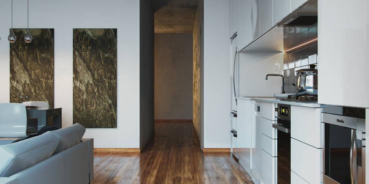 The White Kitchen: Кухни в . Автор – Stanislav Booth