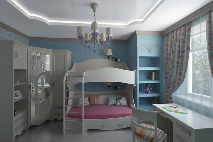 Nursery/kid's room by Анна Путенис. Дизайнер и 3D- визуализатор (интерьеры)