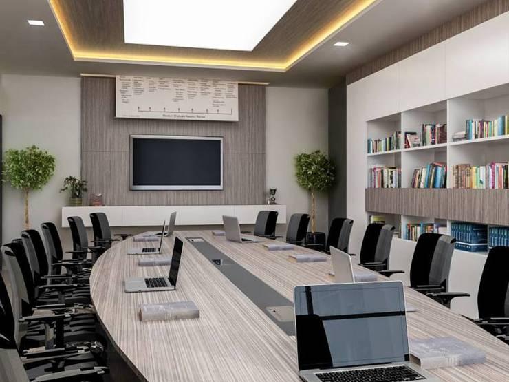 VERO CONCEPT MİMARLIK – Ares Tersane – Ofis:  tarz Ofis Alanları