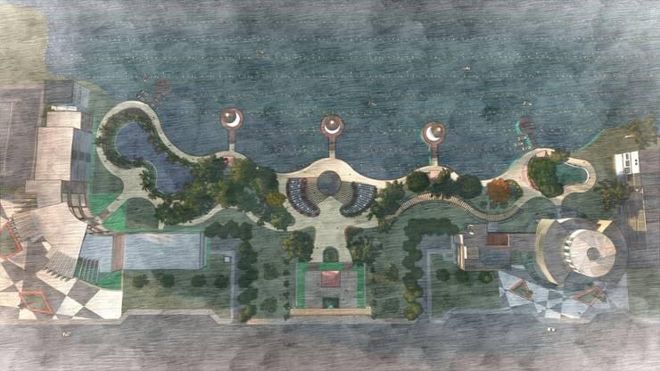 Centro para el estudio y protección de la fauna y flora del golfo:  de estilo  por Arq. Miguel Garrido