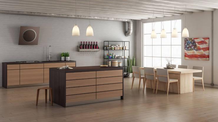 مطبخ تنفيذ Simone Manna 3D
