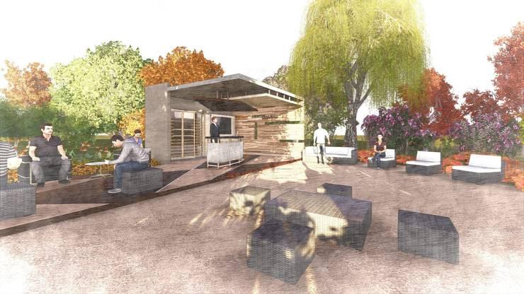 Diseño Arquitectónico de un Parador Turístico:  de estilo  por Arq. Miguel Garrido