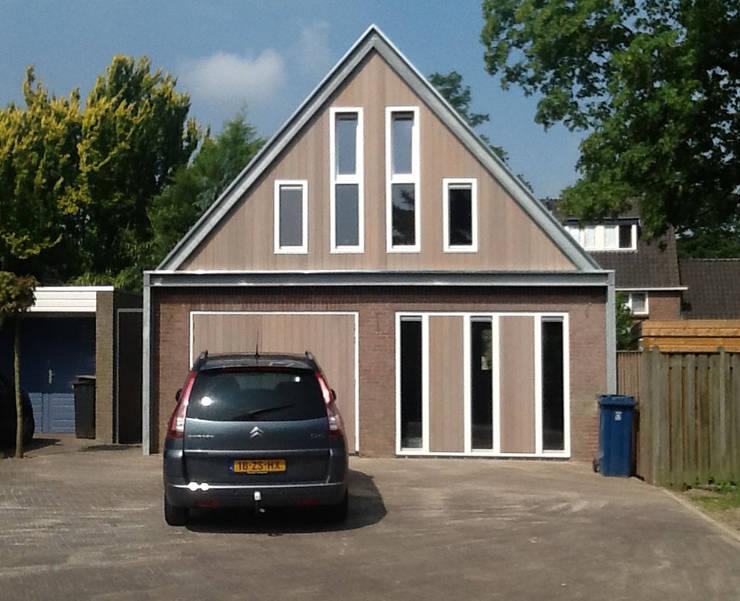 Atelierruimte Nuenen:  Studeerkamer/kantoor door KdV architectuur, Modern