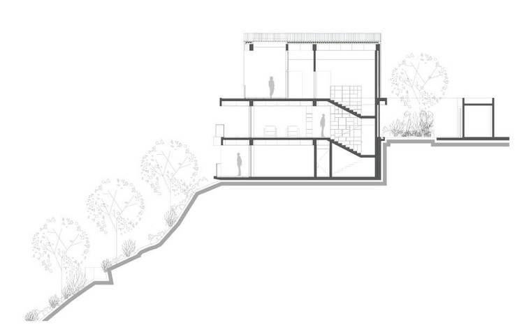 casa icabarú:  de estilo  por adjkm colectvo de arquitectos