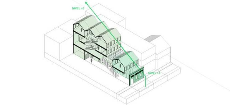 don armando:  de estilo  por adjkm colectvo de arquitectos