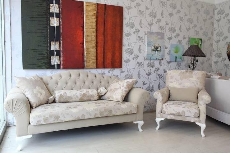 Fluart Mobilya ve Dekorasyon – FluArt Mobilya: modern tarz Oturma Odası