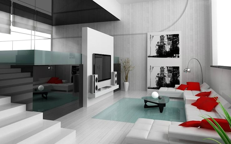 Fluart Mobilya ve Dekorasyon – FluArt Mobilya: modern tarz , Modern