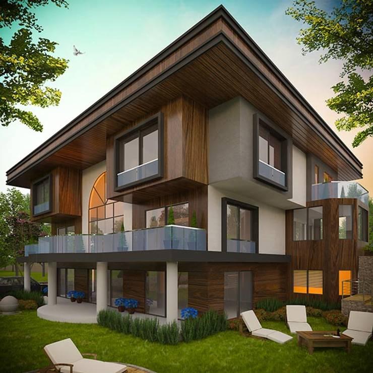 Hasan Gültürk 3d Görselleştirme ve Tasarım Hizmetleri – Marss Yapı Ali Bayraktar Villa Tasarımı:  tarz