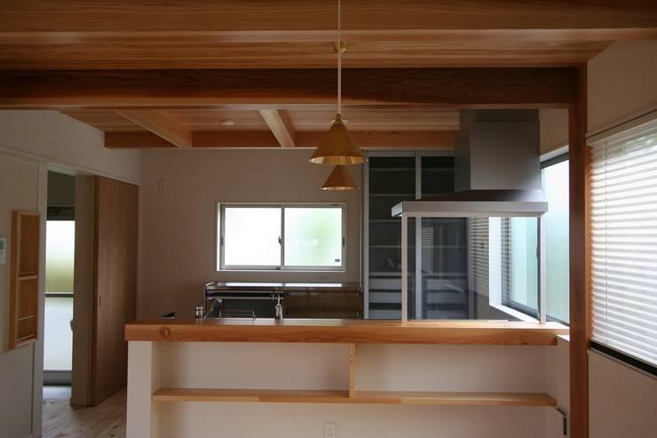 Кухни в . Автор – 遠藤知世吉・建築設計工房, Азиатский