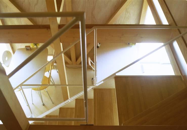 自邸: 箕口建築制作設計所が手掛けた廊下 & 玄関です。