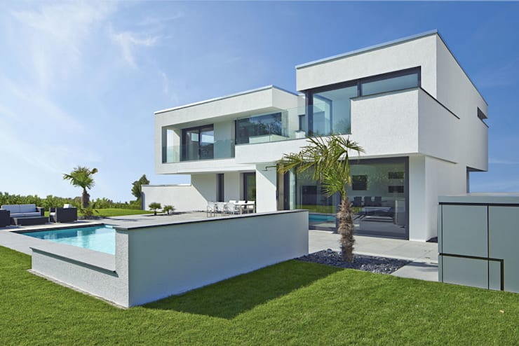 VILLA BELICE: moderne Häuser von LEE+MIR
